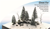 0595716 CRAFTSCAPE DIY: WINTER SCENE KIT