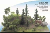 0595717 CRAFTSCAPE DIY: MOUNTAIN SCENE KIT