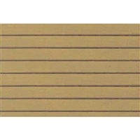 0597413 PATTERN SHEETS, Clapboard Siding, HO-scale (1:100) 2/pk