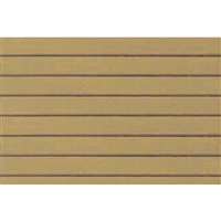 "0597414 PATTERN SHEETS, Clapboard Siding, Arch. 3/16"" (1:64) 2/pk"