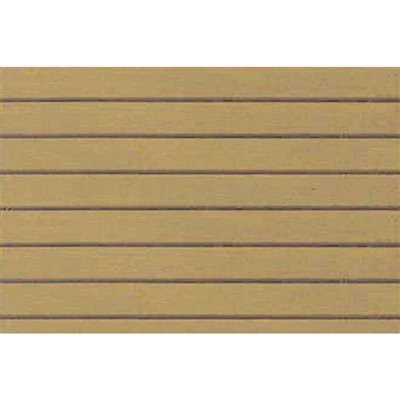 0597415 PATTERN SHEETS, Clapboard Siding, O-scale (1:48) 2/pk