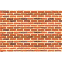 0597422 PATTERN SHEETS, Brick, HO-scale (1:100) 2/pk