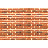 0597423 PATTERN SHEETS, Brick, O-scale (1:48) 2/pk