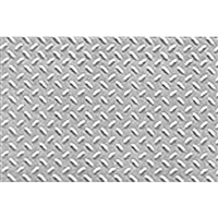 0597449 PATTERN SHEETS, Diamond Plate, HO-scale (1:100) 2/pk