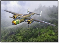 "12328 1/48 B-25D ""Pacific Theatre"" USAAF"
