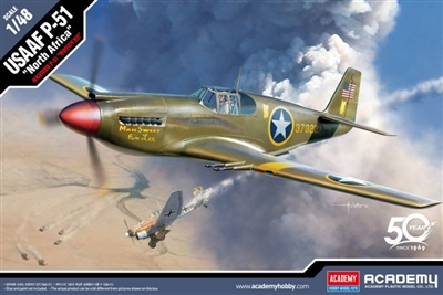 "12338 1/48 P-51 ""North Africa"" USAAF"