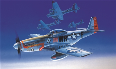 12485 1/72 NORTH AM P-51D USA  MUSTANG