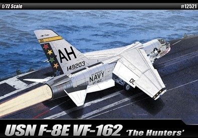 "12521 F-8E VF-162 ""THE HUNTERS"" USN"