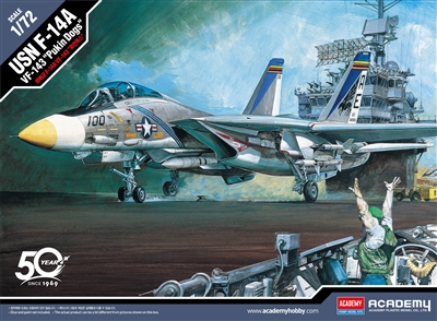 "12563 1/72 F-14A VF-143 ""Pukin Dogs"" USN"