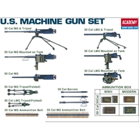 13262 US WWII MACHINE GUNS