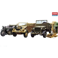 13416 WWII GROUND VEHICLES