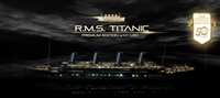 14226 1/400 R.M.S. Titanic Premium Edition with LED