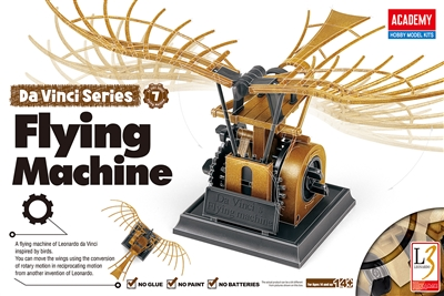 18146 DA VINCI FLYING MACHINE