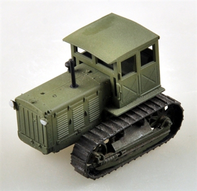 35114 1/72 Russian ChTZ S-65 Tractor with Cab (green)