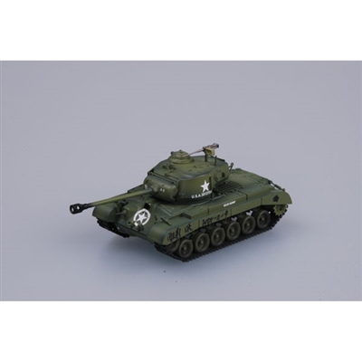 36200 1/72 M26 Pershing #9 Co. A 18th Bat, 8 Armored Div.