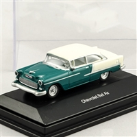 452617501 1955 Chevy Bel Air Green/Cream