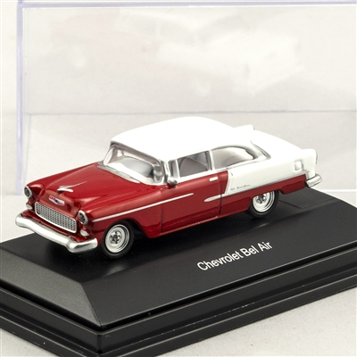 452617502 1955 Chevy Bel Air Red/White