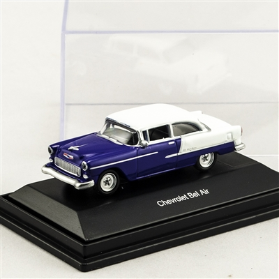 452617505 1955 Chevy Bel Air Purple/White