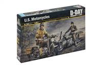 550322 1/35 U.S. Motorcycles WWII