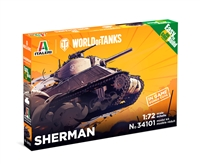 5534101 1/72 World of Tanks: SHERMAN (Fast Assembly)
