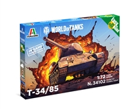 5534102 1/72 World of Tanks: T-34/85 (Fast Assembly)