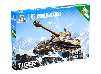 5534103 1/72 Pzkfw. VI Tiger I (World of Tanks) Fast Assembly Kit