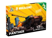 5534104 1/72 Pzkfw. V Panther (World of Tanks) Fast Assembly Kit