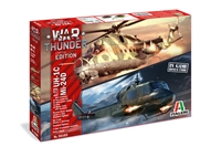 5535103 1/72 War Thunder: MIL Mi-24D / UH-1C