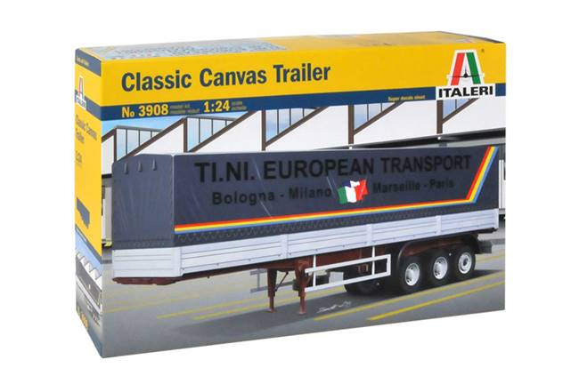 553908 1/24 Classic Canvas Trailer
