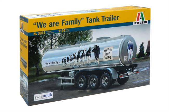 "553911 1/24 Tank Trailer ""We are Family"""