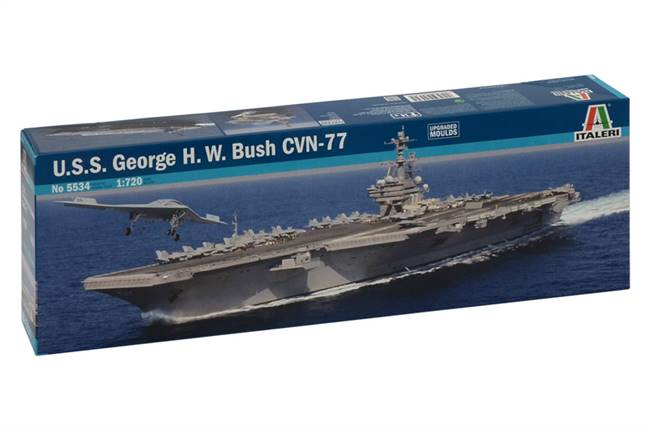 555534 1/720 USS George H.W. Bush CVN 77