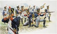 556002 1/72 Napoleonic Wars: French Line Infantry (1815)