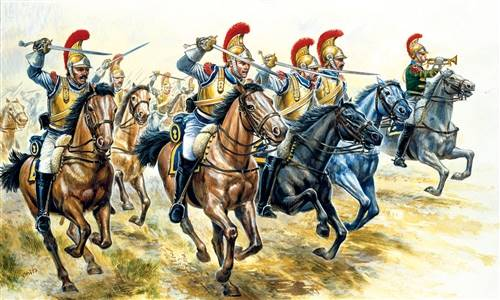 556003 1/72 Napoleonic Wars: 'French Heavy Cavalry