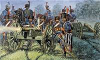 556018 1/72 Napoleonic Wars: French Line/Guard Artillery