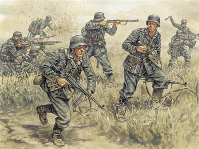 556033 1/72 German Infantry