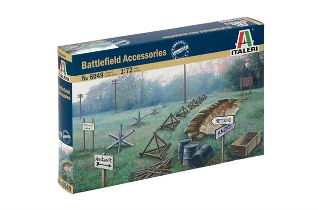 556049 1/72 WWII Accessories