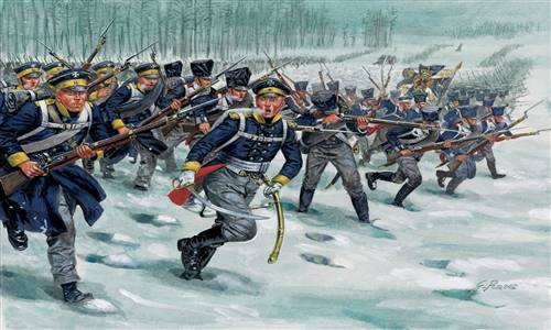 556067 1/72 Napoleonic Wars: Prussian Infantry