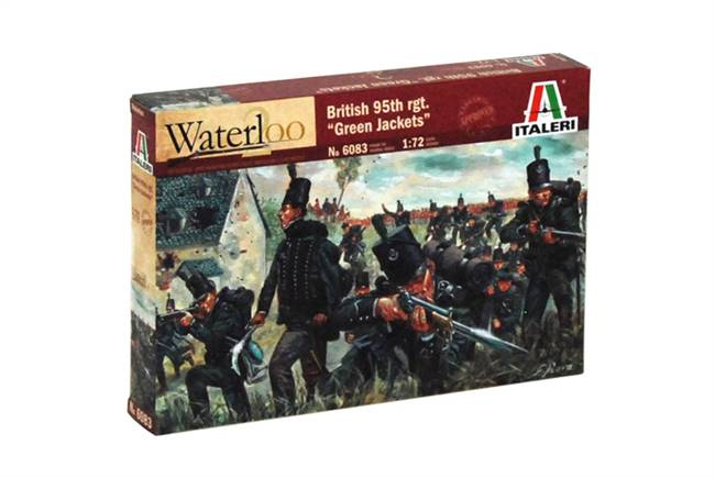 556083 1/72 Napoleonic Wars: British Green Jackets