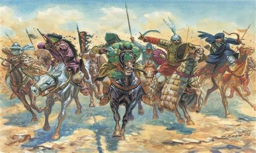 556126 1/72 Medieval Era Arab Warriors