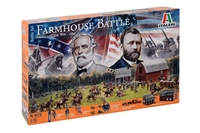 556179 1/72 Farmhouse Battle - American Civil War 1864