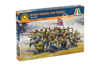 556187 1/72 British Infantry and Sepoys (Colonial Wars)