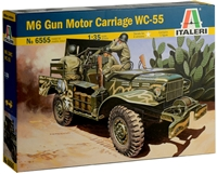 556555 1/35 M6 Gun Motor Carriage WC-55 (1 figure included)
