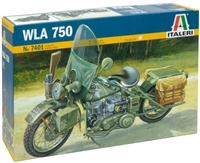 557401 1/9 U.S. Army WWII Motorcycle