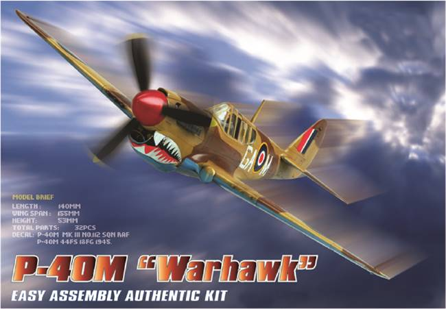 80251 1/72 P-40M Kitty Hawk