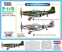 85802 1/48 P-51D Mustang IV Fighter