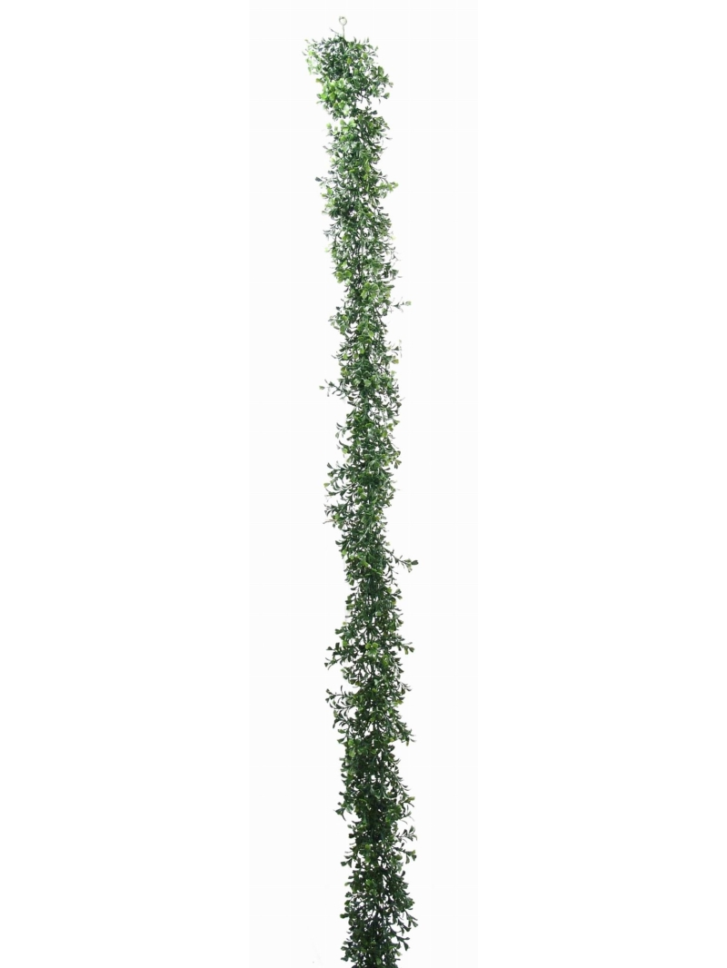 9' BOXWOOD GARLAND X760 - TUTONE