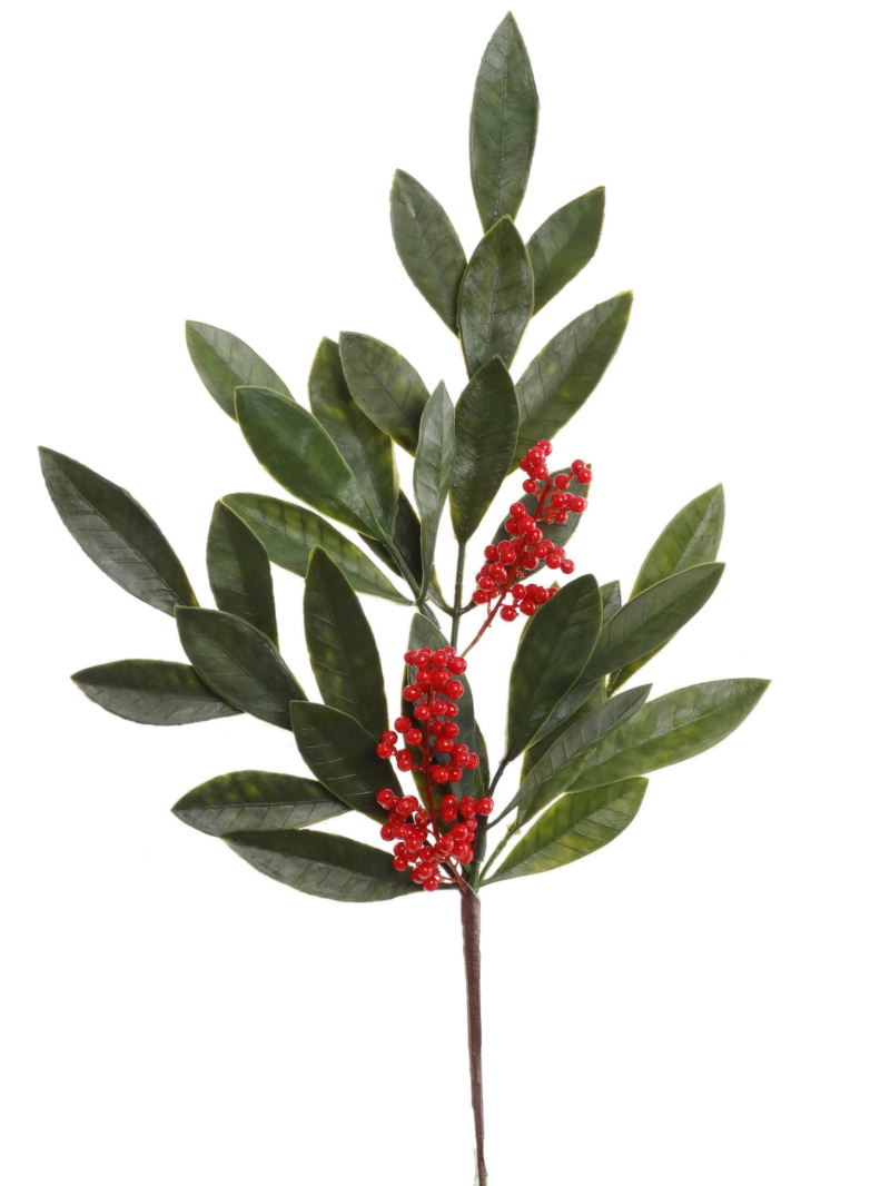 "20"" BAY LEAF/BERRY SPRAY X5"