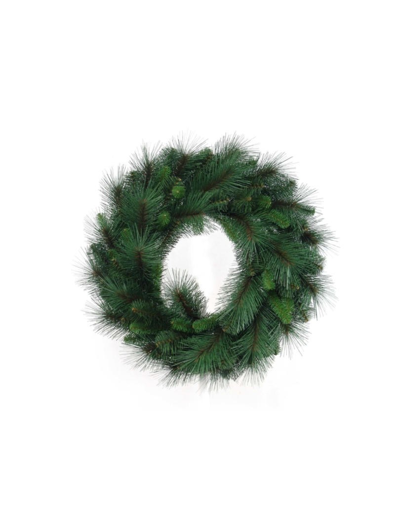 "24"" MIXED PINE WREATH 81 TIPS"