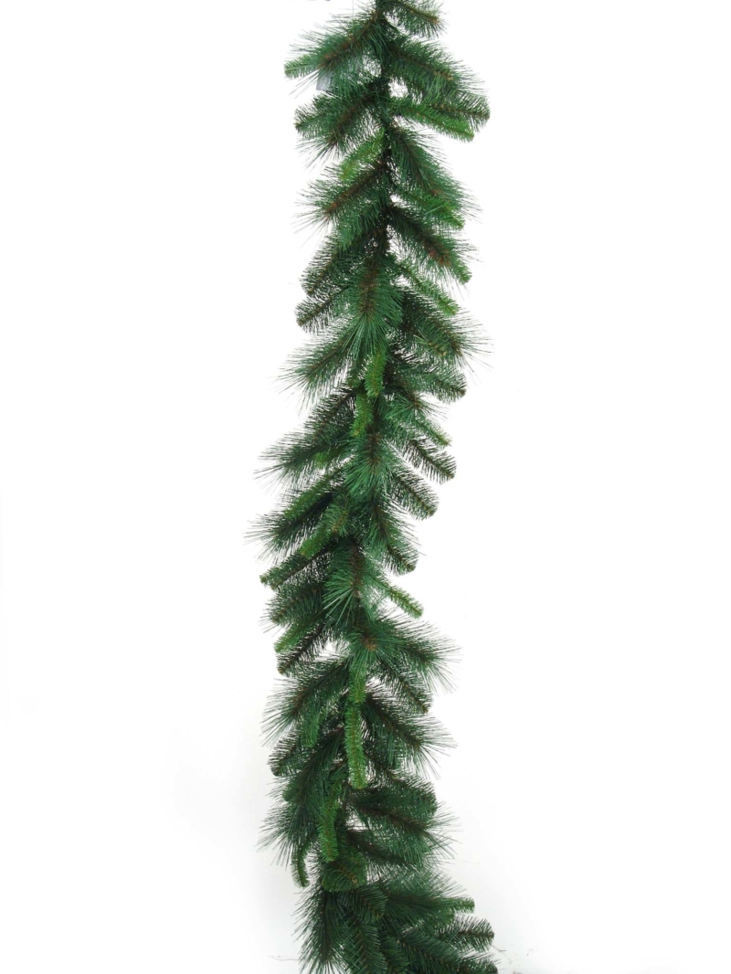 9' MIXED PINE GARLAND