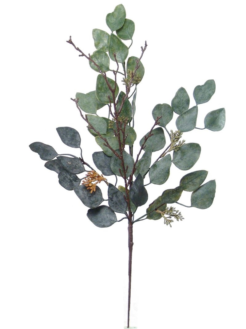 "20"" EUCALYPTUS SPRAY X5 - MIX GRN"